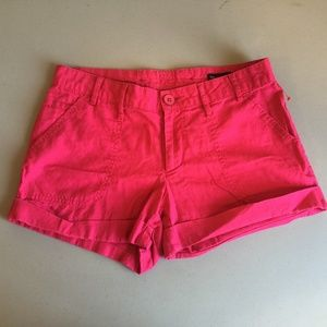 GAP Pink Button Shorts